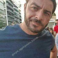 Ο Γιώργος στην πλατεία Αριστοτέλους στη Θεσσαλονίκη στις 24 Σεπτεμβρίου 2017 Φωτογραφία: giorgos_aggelopoulos_friends Instagram