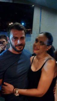 Ο Γιώργος με φαν στον Εύοσμο Θεσσαλονίκης - 24 Σεπτεμβρίου 2017 Φωτογραφία: Menia Karapali Facebook