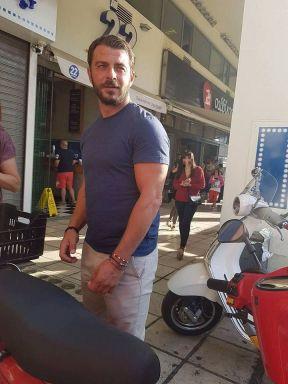 Ο Γιώργος στην πλατεία Αριστοτέλους στη Θεσσαλονίκη στις 24 Σεπτεμβρίου 2017 Φωτογραφία: Nefize Velioglou Facebook