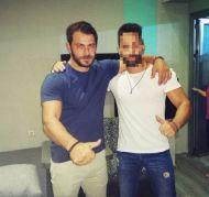 Ο Γιώργος με φαν στον Εύοσμο Θεσσαλονίκης - 24 Σεπτεμβρίου 2017 Φωτογραφία: vasilis_borbo Instagram