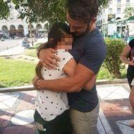 Ο Γιώργος με φαν στην Πλατεία Αριστοτέλους στις 24 Σεπτεμβρίου 2017 Φωτογραφία: __spiranti__ Instagram