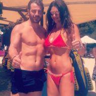 Ο Γιώργος με τη Σοφία Παθέκα στη Σκιάθο - 13 Αυγούστου 2017 Φωτογραφία: sofiapatheka Instagram