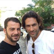 Ο Γιώργος και ο Γιάννης στο Avanti Cafe-Bar στις 28 Σεπτεμβρίου 2017 Φωτογραφία: gregoreszakharias Instagram