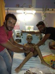 """Ο Γιώργος επισκέπτεται το Νοσοκομείο Παίδων """"Αγία Σοφία"""" - 30 Αυγούστου 2017 Φωτογραφία: Κωστας Φιλιππου Facebook"""