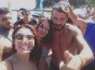 Ο Γιώργος με φανς στην Σκιάθο - 15 Ιουλίου 2017 Φωτογραφία: ntinasek_ Instagram