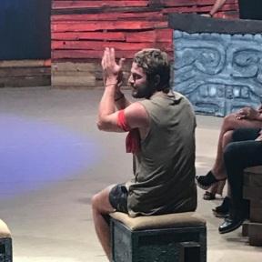 Ο Γιώργος κατά τη διάρκεια του μεγάλου τελικού στο θέατρο Βεΐκου - 5 Ιουλίου 2017 Φωτογραφία: gregoreszakharias Instagram