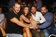 Ο Γιώργος, η Ειρήνη, ο Μπο και ο Μάριος στο Club 22 - 21 Σεπτεμβρίου 2017 Φωτογραφία: newsone