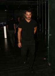 Ο Γιώργος κατά την είσοδό του στο Club 22 - 21 Σεπτεμβρίου 2017 Φωτογραφία: newsone
