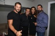 Ο Γιώργος, η Ειρήνη, ο Αντύπας και ο Μπο στο Club 22 - 21 Σεπτεμβρίου 2017 Φωτογραφία: newsone