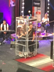 """Ο Γιώργος κατά τη διάρκεια του γυρίσματος της συνέντευξης για την εκπομπή """"The Λούης Night Show"""" - 24 Οκτωβρίου 2017"""