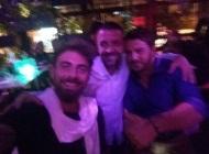 Ο Γιώργος μαζί με τον Μάριο και τον Άκη στην Κύπρο κατά την βραδινή τους έξοδο στις 13 Οκτωβρίου 2017 Φωτογραφία: giorgos_aggelopoulos_friends Instagram