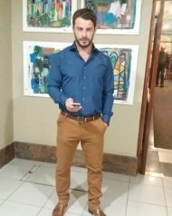 Ο Γιώργος στην Κύπρο στις 13 Οκτωβρίου 2017 Φωτογραφία: gregoreszakharias Instagram