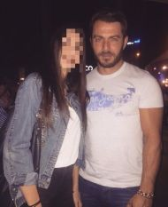 Ο Γιώργος με φαν σε βραδινή έξοδο στη Λευκωσία - 14 Οκτωβρίου 2017 Φωτογραφία: andreaxeni Instagram