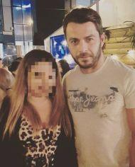 Ο Γιώργος με φαν σε βραδινή έξοδο στη Λευκωσία - 14 Οκτωβρίου 2017 Φωτογραφία: antigonipatsalidou Instagram
