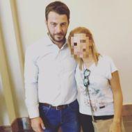 Ο Γιώργος μαζί με φαν στο Hilton Park Hotel στη Λευκωσία όπου παρευρέθηκε για το συνέδριο της Eurolife - 14 Οκτωβρίου 2017 Φωτογραφία: evinikos Instagram