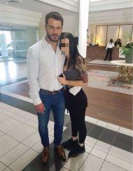 Ο Γιώργος μαζί με φαν στο Hilton Park Hotel στη Λευκωσία όπου παρευρέθηκε για το συνέδριο της Eurolife - 14 Οκτωβρίου 2017 Φωτογραφία: rafaella_dm Instagram
