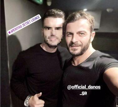 Ο Γιώργος με φαν στο Aperitivo Jeset Lounge στη Λευκωσία - 15 Οκτωβρίου 2017 Φωτογραφία: alexisbratsiani92 Instagram
