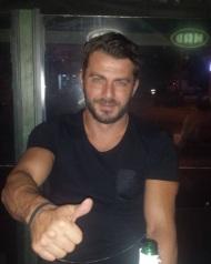 Ο Γιώργος στο Aperitivo Jeset Lounge στη Λευκωσία - 15 Οκτωβρίου 2017 Φωτογραφία: aspropatocy_party Instagram