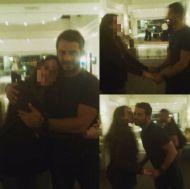 Ο Γιώργος με φαν στο ξενοδοχείο Hilton Park στη Λευκωσία - 15 Οκτωβρίου 2017 Φωτογραφία: danosmyangelboy Instagram