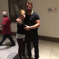 Ο Γιώργος με φαν στο ξενοδοχείο Hilton Park στη Λευκωσία - 15 Οκτωβρίου 2017 Φωτογραφία: evinikos Instagram
