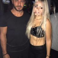 Ο Γιώργος με φαν στο Aperitivo Jeset Lounge στη Λευκωσία - 15 Οκτωβρίου 2017 Φωτογραφία: koninax Instagram