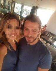 Ο Γιώργος με φαν στο YACHT Resto Bar στην επαρχία Λεμεσού στην Κύπρο - 15 Οκτωβρίου 2017 Φωτογραφία: louiza_yiangou Instagram