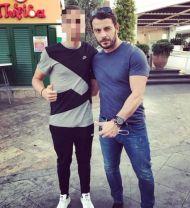 Ο Γιώργος με φαν στη Λεμεσό στις 15 Οκτωβρίου 2017 Φωτογραφία: martinos__11 Instagram