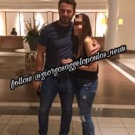 Ο Γιώργος με φαν στο ξενοδοχείο Hilton Park στη Λευκωσία - 15 Οκτωβρίου 2017 Φωτογραφία: n.panayi Instagram