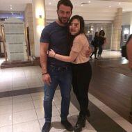 Ο Γιώργος με φαν στο ξενοδοχείο Hilton Park στη Λευκωσία - 15 Οκτωβρίου 2017 Φωτογραφία: Nikoletta Avraam Facebook