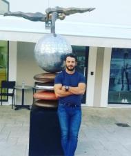 Ο Γιώργος στην Μαρίνα της Λεμεσού κατά την επίσκεψή του στην Κύπρο - 15 Οκτωβρίου 2017 Φωτογραφία: official_danos_ga Instagram