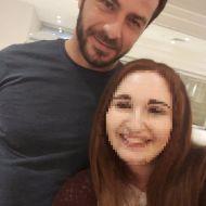 Ο Γιώργος με φαν στο ξενοδοχείο Hilton Park στη Λευκωσία - 15 Οκτωβρίου 2017 Φωτογραφία: Sofia Fanti Facebook