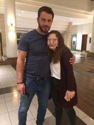 Ο Γιώργος με φαν στο ξενοδοχείο Hilton Park στη Λευκωσία - 15 Οκτωβρίου 2017 Φωτογραφία: sofia_fanti Instagram