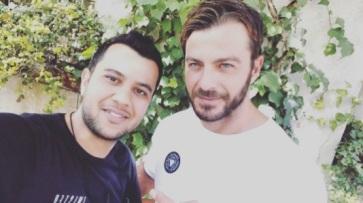 Ο Γιώργος κατά τη διάρκεια της φωτογράφισης για το περιοδικό Beautiful People στην Κύπρο - 16 Οκτωβρίου 2017 Φωτογραφία: nicolasphotiou Instagram