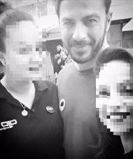 Ο Γιώργος με φανς στη Λήδρας Λευκωσίας - 17 Οκτωβρίου 2017 Φωτογραφία: areti_demo Instagram