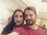Ο Γιώργος με φαν στο ξενοδοχείο Hilton Park στη Λευκωσία - 17 Οκτωβρίου 2017 Φωτογραφία: eliatsiripilli Instagram