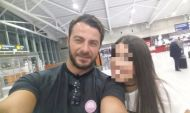 Ο Γιώργος μαζί με φαν στο αεροδρόμιο της Λάρνακας πριν την επιστροφή του στην Αθήνα - 17 Οκτωβρίου 2017 Φωτογραφία: gianna.andreou Instagram