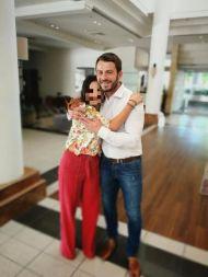 Ο Γιώργος μαζί με φαν στο Hilton Park Hotel στη Λευκωσία όπου παρευρέθηκε για το συνέδριο της Eurolife - 14 Οκτωβρίου 2017 Φωτογραφία: 1mara_costa Instagram