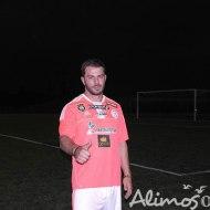 Ο Γιώργος στο γήπεδο Τραχώνων στον Άλιμο μετά τη λήξη του φιλανθρωπικού ποδοσφαιρικού αγώνα που διοργανώθηκε από τον Δήμο - 23 Οκτωβρίου 2017 Φωτογραφία: alimosonline