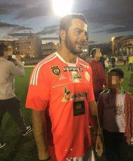 Ο Γιώργος στον φιλανθρωπικό ποδοσφαιρικό αγώνα στο γήπεδο Τραχώνων στον Άλιμο - 23 Οκτωβρίου 2017 Φωτογραφία: angie_vls IG via aggelopoulosfansofficial Instagram