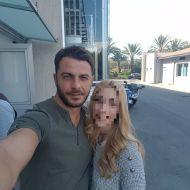 Ο Γιώργος με φαν έξω από τα γραφεία του σταθμού Alpha στην Κύπρο - 24 Οκτωβρίου 2017 Φωτογραφία: alphanewslive