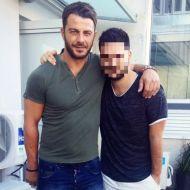 Ο Γιώργος μαζί με φαν στην Κύπρο στις 24 Οκτωβρίου 2017 Φωτογραφία: karnakiss Instagram