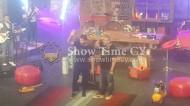 """Ο Γιώργος στην εκπομπή του Λούη Πατσαλίδη """"The Λούης Night Show"""" στην Κύπρο - 24 Οκτωβρίου 2017 Φωτογραφία: showtimecy.com"""