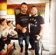 Ο Γιώργος μαζί με φαν στην Κύπρο στις 25 Οκτωβρίου 2017 Φωτογραφία: costas20 Instagram