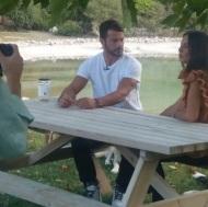 Ο Γιώργος στον Ωρωπό κατά τη διάρκεια συνέντευξης με θέμα τα αδέσποτα - 3 Οκτωβρίου 2017 Φωτογραφία: gregoreszakharias Instagram