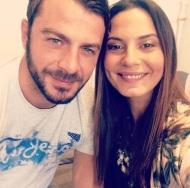 Ο Γιώργος με τη δημοσιογράφο Θάλεια Γιαννακοπούλου - 3 Οκτωβρίου 2017 Φωτογραφία: thalia_giann Instagram