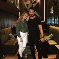 Ο Γιώργος με την αθλήτρια Κατερίνα Δαλάκα στο Avanti Cafe-Bar στις 11 Νοεμβρίου 2017 Φωτογραφία: katerina_dalaka Instagram