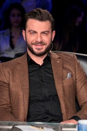 """Ο Γιώργος ως κριτής στο γύρισμα για το """"Ελλάδα έχεις ταλέντο"""" - 14 Νοεμβρίου 2017 Φωτογραφία: FThis"""