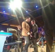 """Ο Γιώργος backstage στο """"Ελλάδα έχεις ταλέντο"""" - 14 Νοεμβρίου 2017 Φωτογραφία: giorgos_aggelopoulos_friends Instagram"""