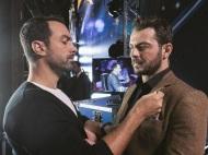 """Ο Γιώργος και ο Σάκης backstage στο """"Ελλάδα έχεις ταλέντο"""" - 14 Νοεμβρίου 2017 Φωτογραφία: gp2323 via sakiswp Instagram"""