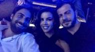 Ο Γιώργος μαζί με την Ειρήνη και τον Μάριο στο Club 22 - 21 Σεπτεμβρίου 2017 Φωτογραφία: eirini_papadopoulou Instagram